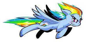 Rainbow Dash by soxtin