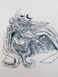 Inktober : Goblin King