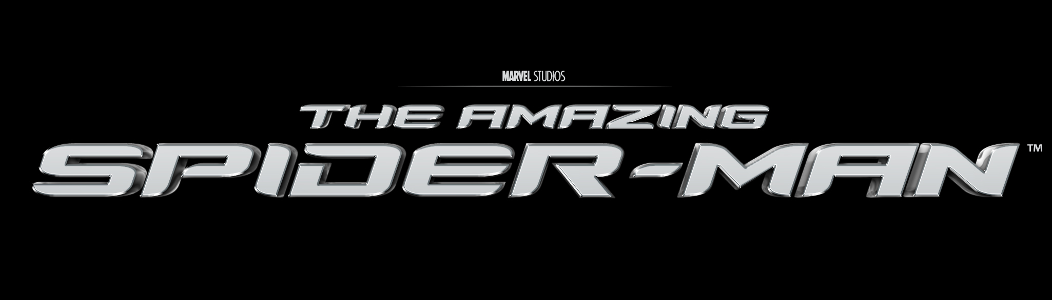 the amazing spiderman title treatment by barney01 on
