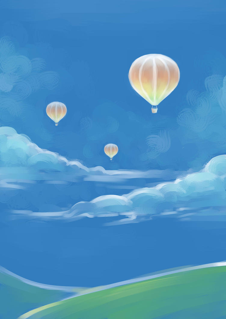 Owl City : Hot Air Balloon by wonderful7life