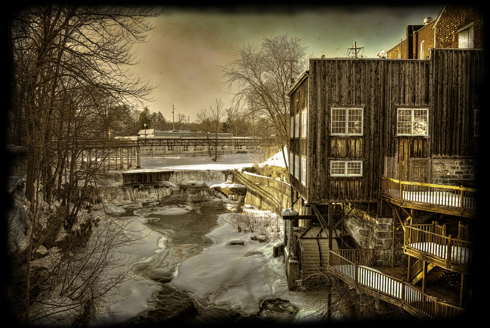 Garrettsville Ohio PRINT SIZE by Str8UpSkills