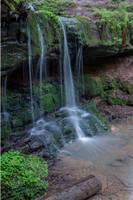 Pfersag Waterfall 02 (cropped) by joachim-hagen