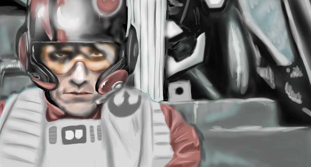 X wing Pilot by bennyby677