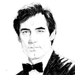 James Bond (Timothy Dalton) by bennyby677