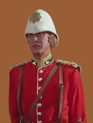 Lieutenant Bromhead (Zulu) by bennyby677