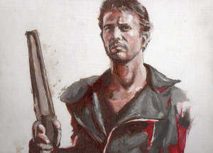 Mad Max Oil Painting