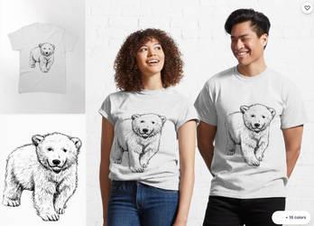 Bear T-shirt art