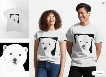 Polar Bear T-Shirt Art