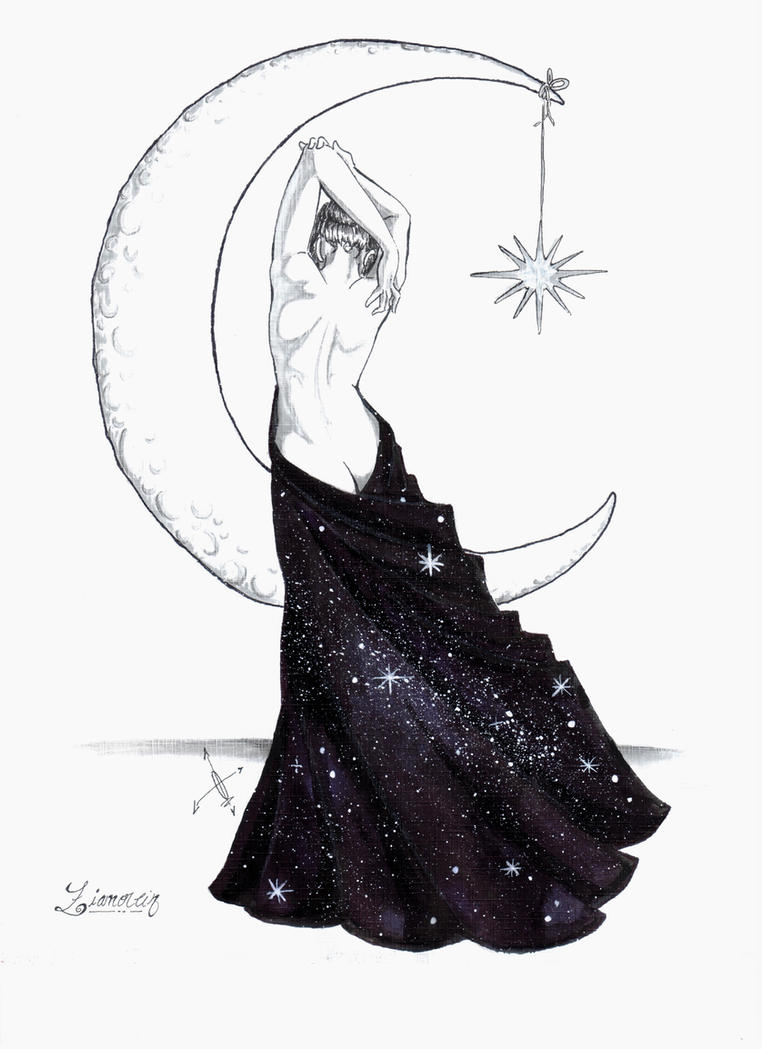 Lady of the night by Ziano-rein