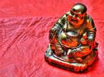 Shiny Buddha statue