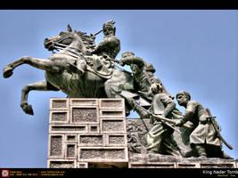 King Nader Tomb - Mashhad, Ira by tiptopland