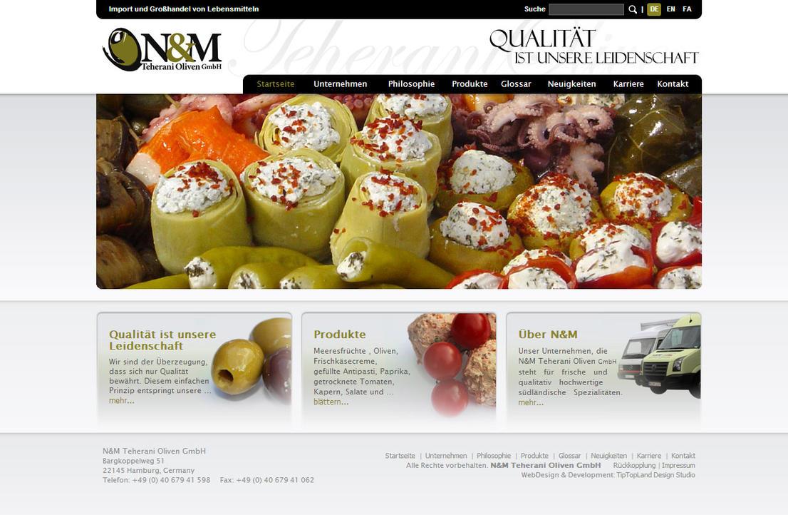 NM Teherani Oliven GmbH by tiptopland