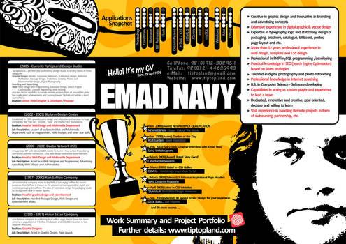 Emad Navy CV ( Resume )