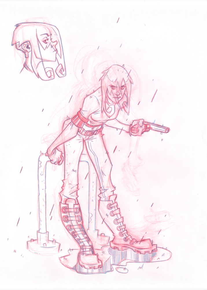 gungirl by robinmitchell