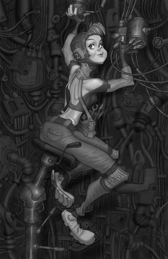 Mechanic Final by robinmitchell