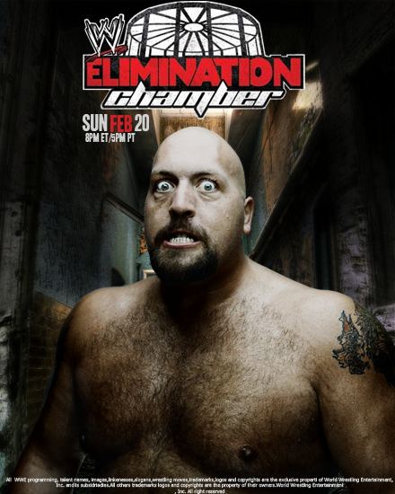 Elimination Chamber-Poster by DuffKent