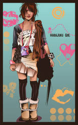harajuku girl by womanwithagun