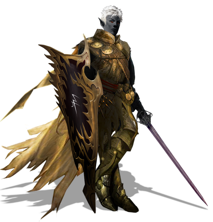 Dark Elf Warlord (2nd iteration) by Tanorax
