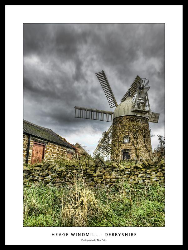 Heage Windmill by Nealpetts