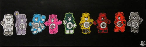 Care Bear Corps - Painting