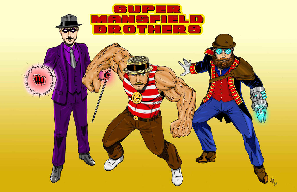 Super Mansfield Brothers by AdamTupper