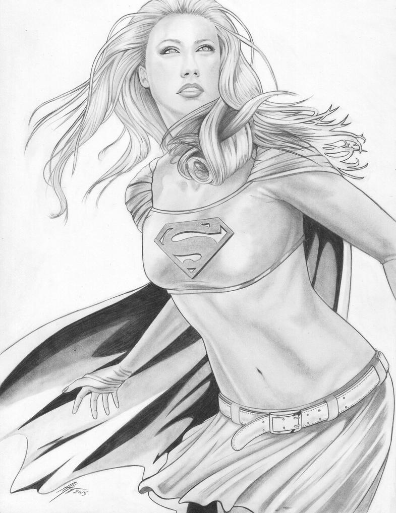 Supergirl 2015 by AdamTupper