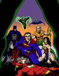 Justice League DC2 issue 1 by AdamTupper