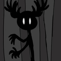 Creature In The Forest by Lux-Rei