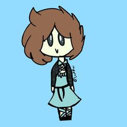 Rei Doodle by Lux-Rei