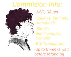 COMMISSIONS STATUS: OPEN
