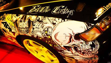 custom car wrap at autosport by fets81