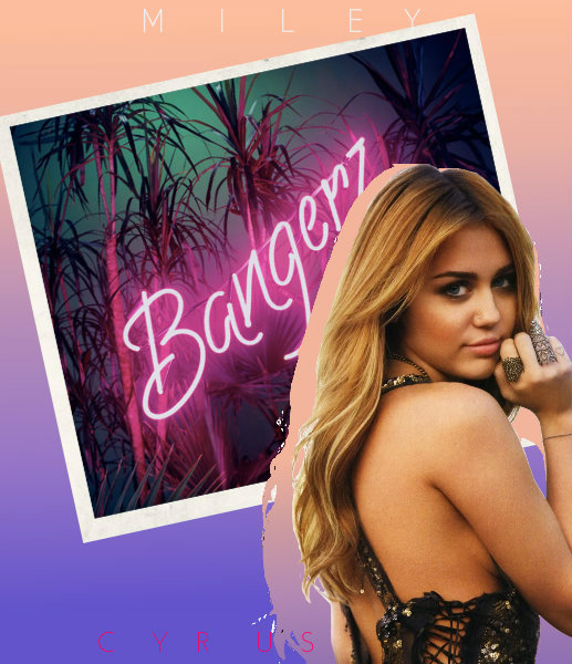 Miley Cyrus - Bangerz/fanmade/ 2 by Ecish on DeviantArt