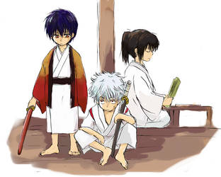 the gintama by julen19
