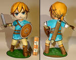 Chibi Link (Breath of the Wild) by RafaelTacques