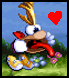 Rayman 1 stamp by Ruffledfeathers