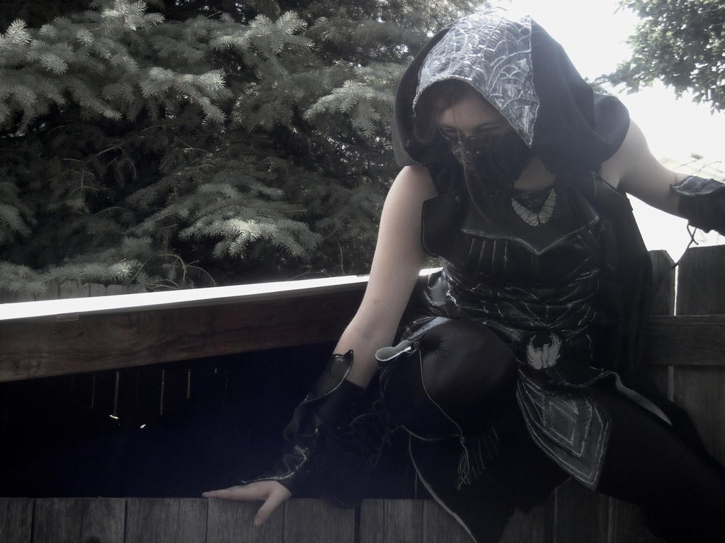 Any Good Loot Down There?--Skyrim Cosplay by audrey-vista