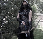 Ready and Waiting--Skyrim Cosplay