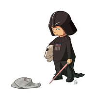 Sad Vader by Diego-Rodrigues