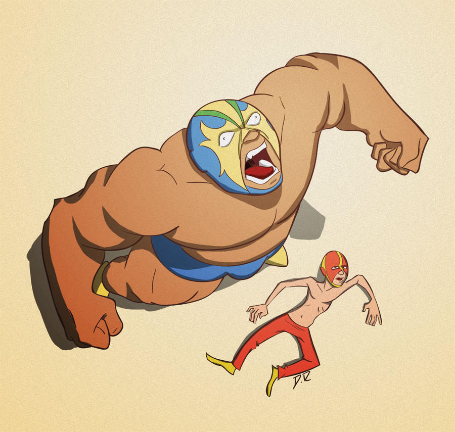 Lucha Libre by Diego-Rodrigues on DeviantArt
