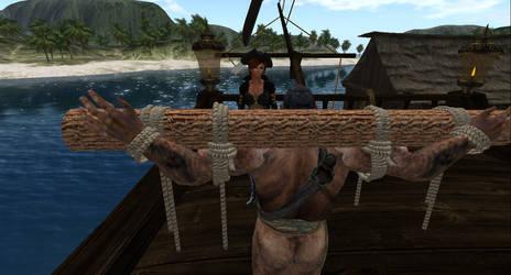 Blackbeard Prisoner of the Pirate Queen #3 by alpe4
