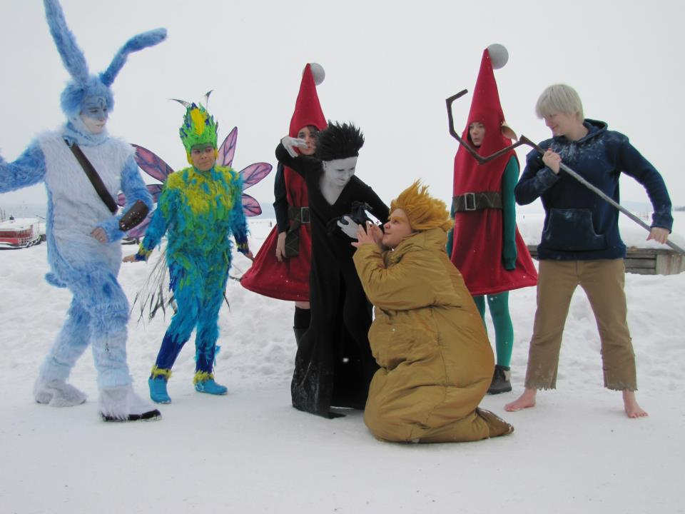 Rise of the guardians group by SaaraZ on DeviantArt Easter Bunny Rise Of The Guardians Cosplay
