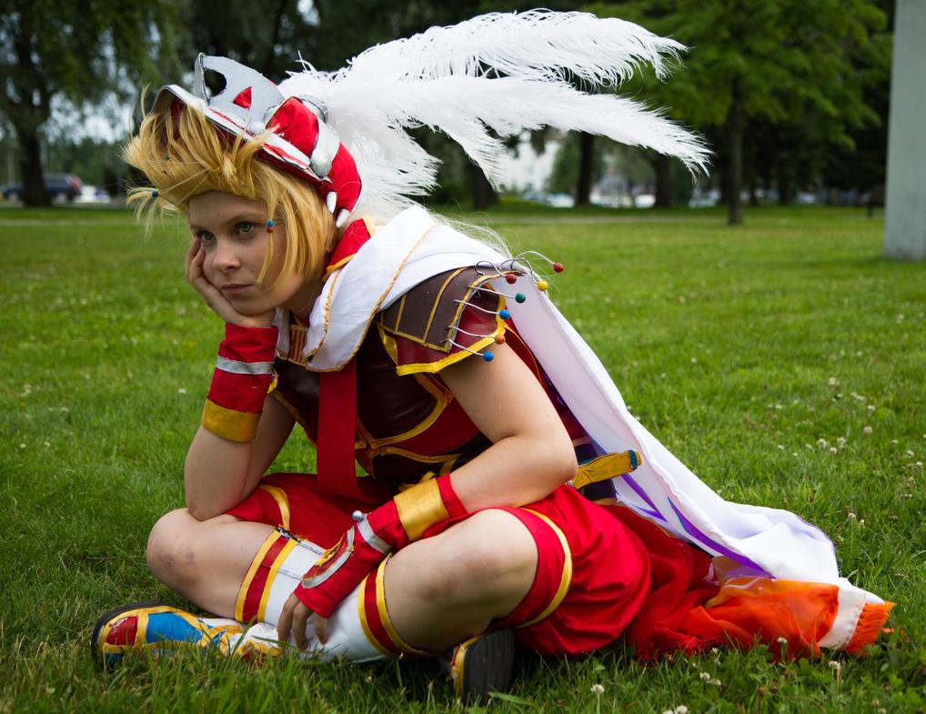 Onion Knight - Final Fantasy Dissidia (2) by SaaraZ