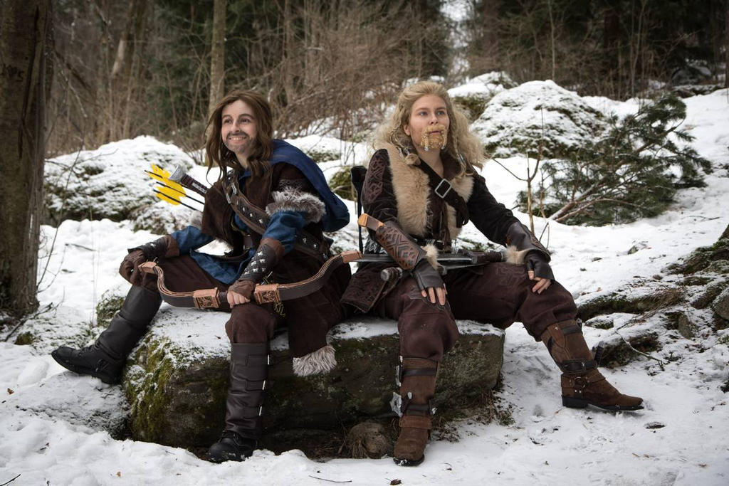 Dwarf brothers - cosplay by SaaraZ