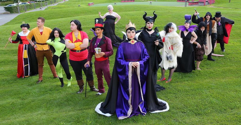 Disney villans by SaaraZ