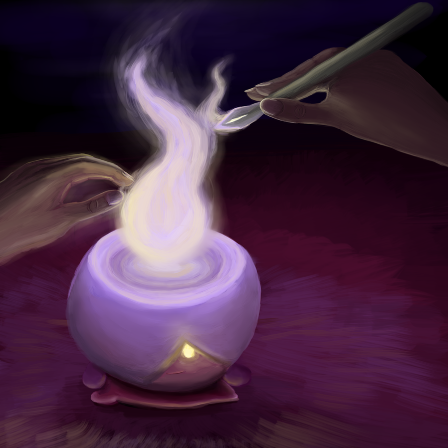 Litwick Source by Mewscaper