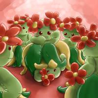 Upskirt Aromatherapy (Bellossom Pokemon TF) by Mewscaper