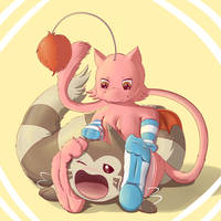 Like My Paws (Mewth and Furret) by Mewscaper