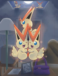 Victini Post-Transformation - Let's Be Young!