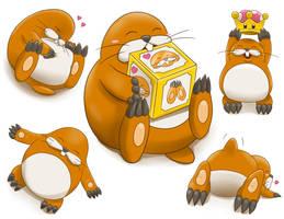 Monty Mole is a cutie - Super Mario Party