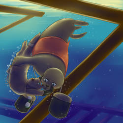 Ten Minutes Left (Otter and Seal)